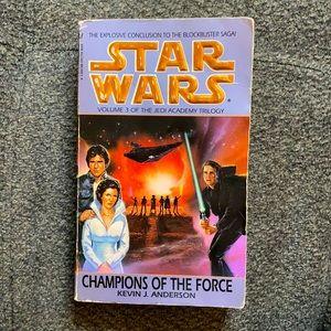 "Book 3 Star Wars ""Jedi Academy"" 1994 Paperback"